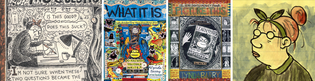 Lynda Barry / on Badass Lady Creatives