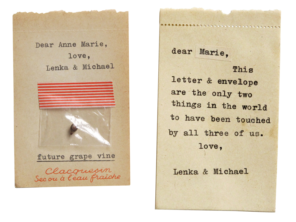 Mysterious Letters by Lenka Clayton | Full post on Badass Lady Creatives