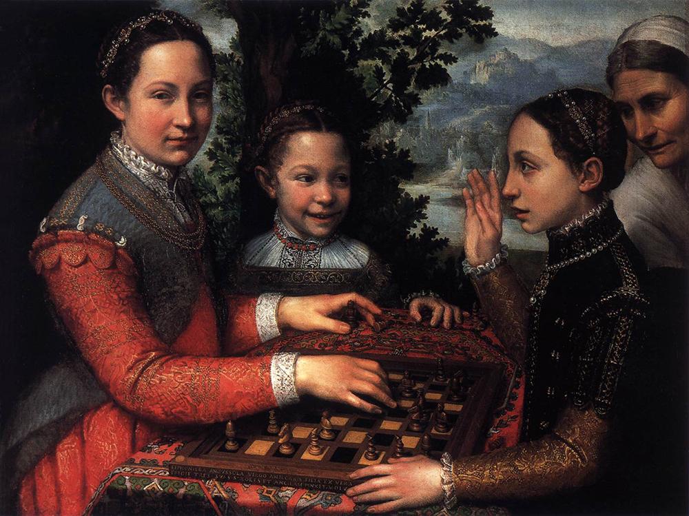 Sofonisba Anguissola | on Badass Lady Creatives
