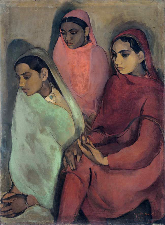 Amrita Sher-Gil via Badass Lady Creatives