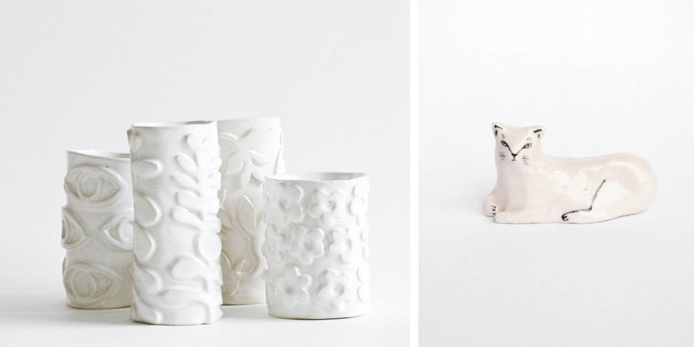 Leah Goren's ceramics