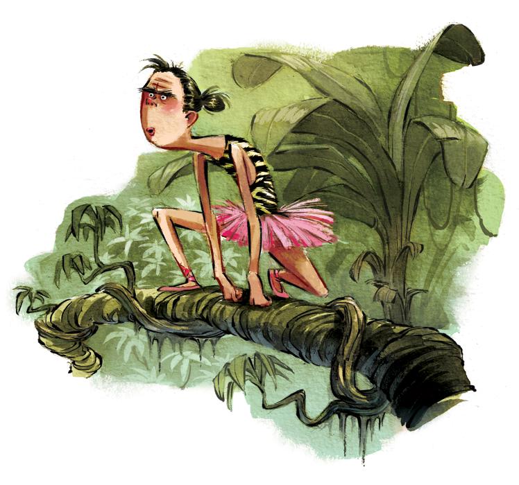 """Jungle Ballerina"""