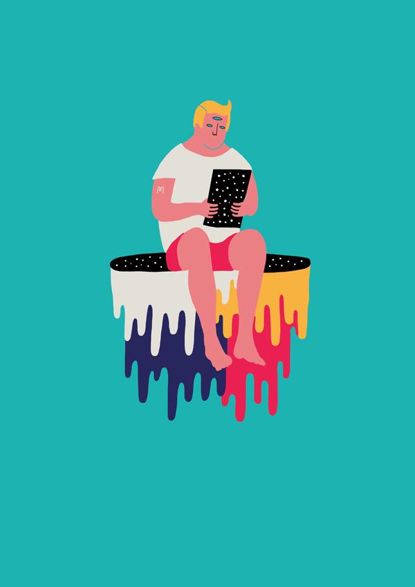 Illustration by Michela Picchi, via Badass Lady Creatives