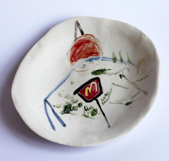 Ceramics by Charlotte Mei, via Badass Lady Creatives