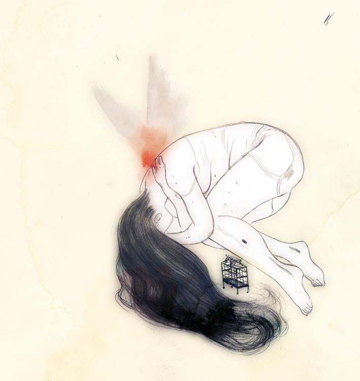 Illustration by Celine Loup, via Badass Lady Creatives