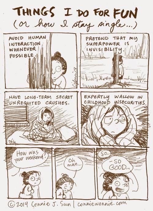 Comic by Connie Sun, via Badass Lady Creatives