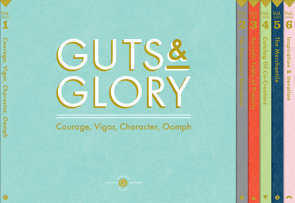 Site design by Guts & Glory, via Badass Lady Creatives