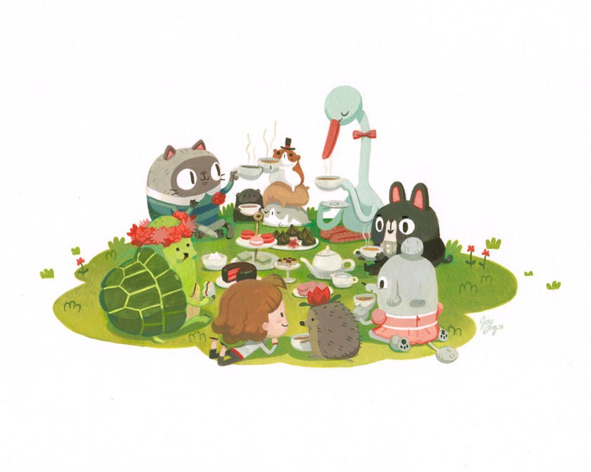 Imaginary Tea Party for Gallery Nucleus