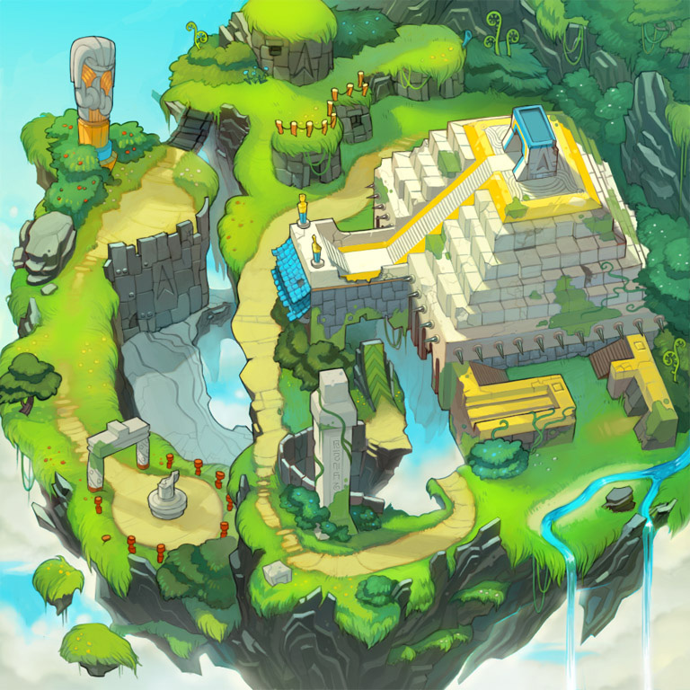 Sonic Chronicles Maps for Bioware