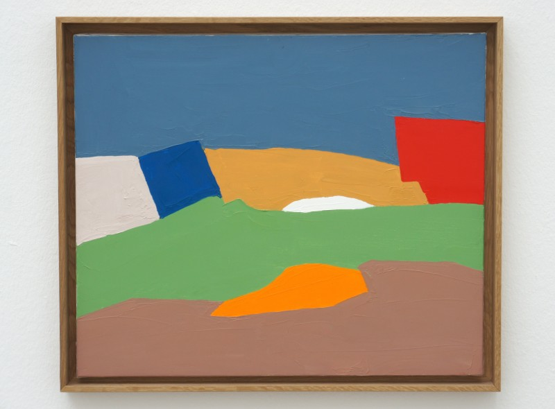 Colorful Landscape Paintings By Etel Adnan Badass Lady