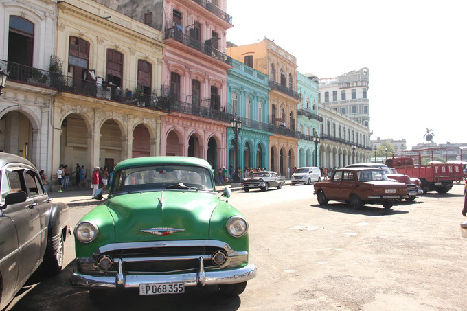 Habana Vieja, Cuba. Taken December 2014 by Shamira Muhammad