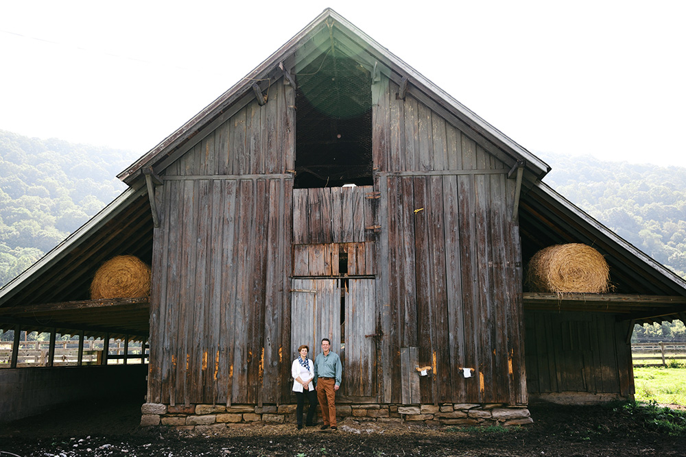 Barn at J.Q. Dickinson Saltworks, by Olivia Rae James