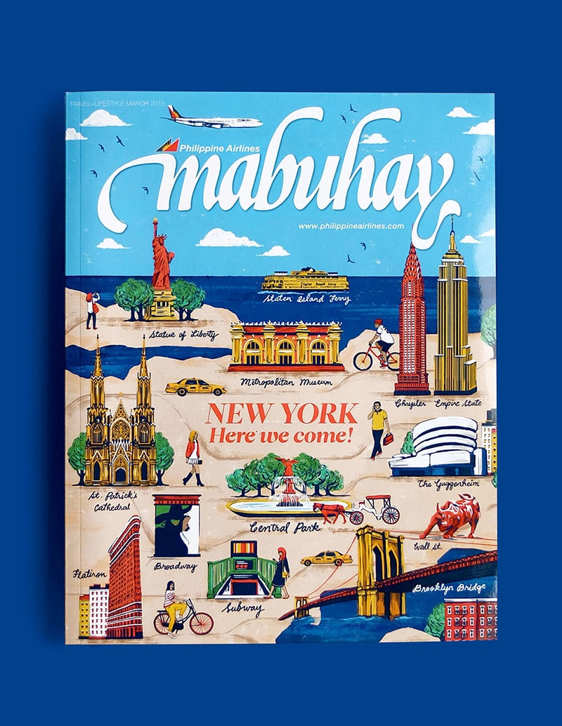 Mabuhay cover illustrated by Raxenne Maniquiz