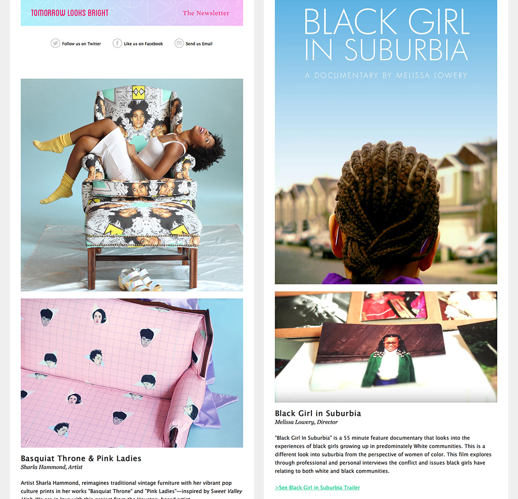 The Inspired Home / Black Girl Stories issues of TLB