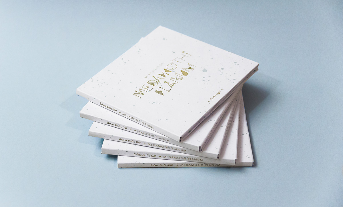Medamothi Planum CD packaging, designed by Stefanie Brückler