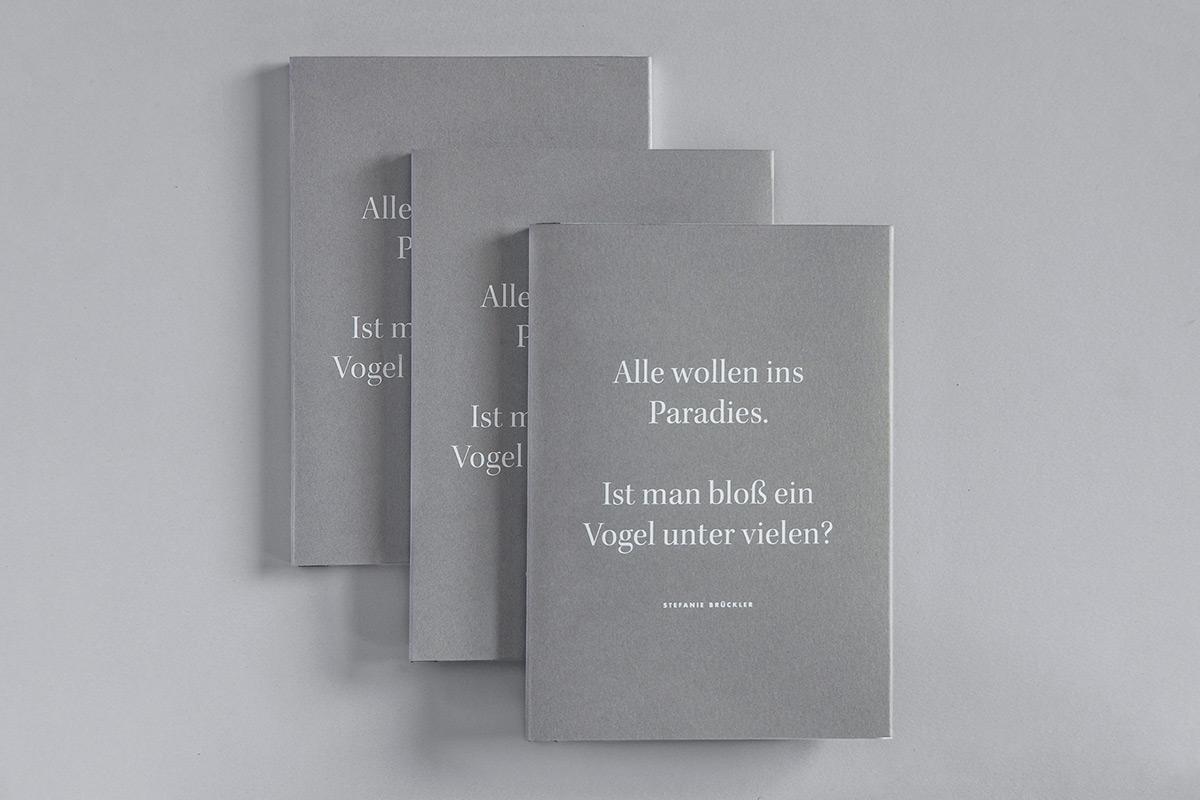 A stack of Stefanie Brückler's BA thesis